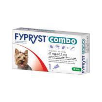 Antiparazitní spot-on FYPRYST COMBO pro psy