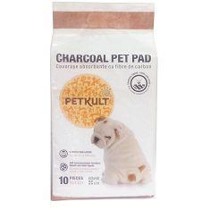 PETKULT podložka CHARCOAL pet pad - 60x60cm / 10ks