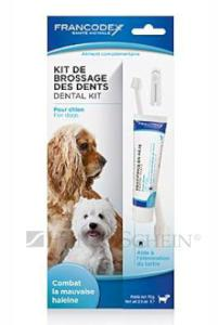 FRANCODEX dog DENTAL KIT