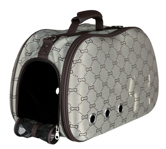 Kufřík SISSY béžovo-hnědý s kostičkami (trixie) - 20x31x50cm