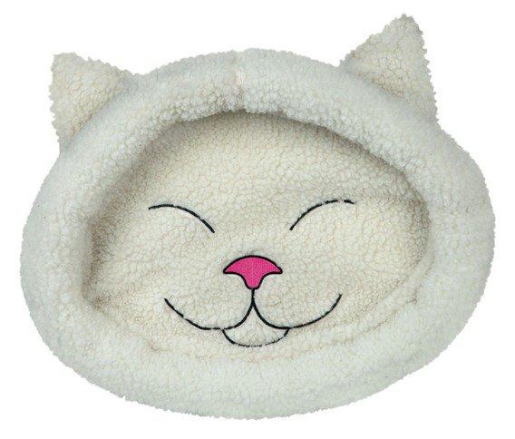 Pelech plyšový MIJOU kočičí hlava - 48x37cm