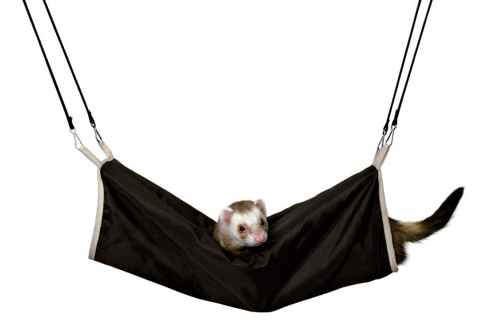 TUNEL pro fretky a potkany s kožešinou závěsný - 20x45cm