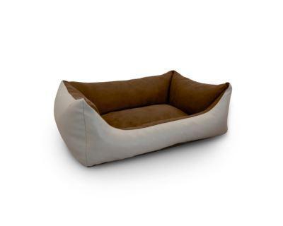 Pelech ARGI KŮŽE/alcan. béžovo/hnědý - 70 x 55 cm