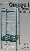Klec  OMEGA I. (drát 2mm )  56x56x146cm