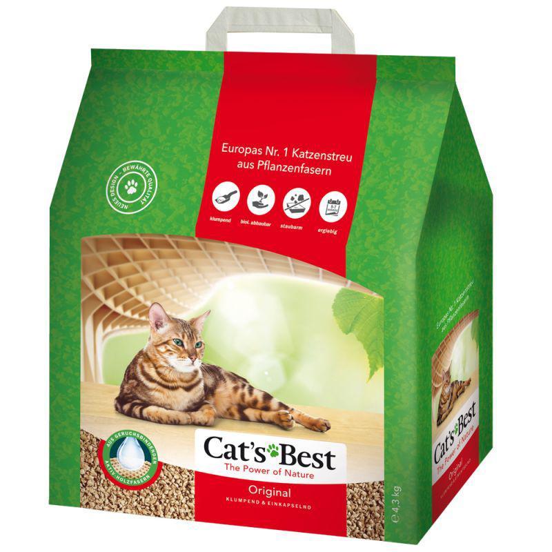 Kočkolit  CAT BEST Original - 10l