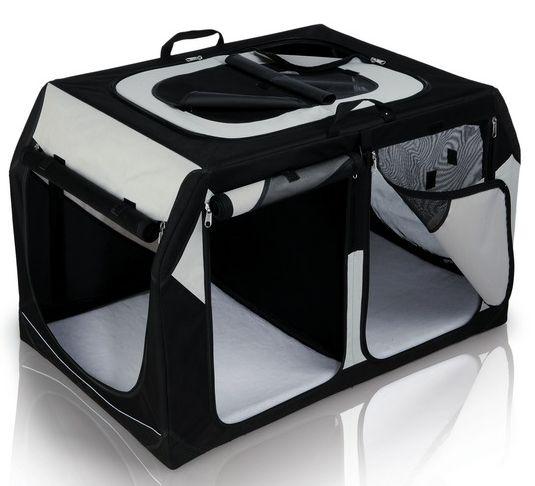 Transpor.nylon. box Vario DOUBLE (trixie) - 91x60x61/57cm
