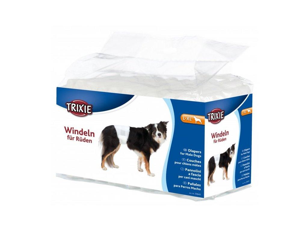 PLENY papírové pro psy (trixie) - L-XL 60-80cm/12ks