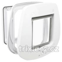 Trixie - DVÍŘKA průchozí  4-cestná/27x26cm/skleněné dveře