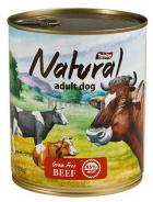 TOBBY -  konz. NATURAL  BEEF  850g