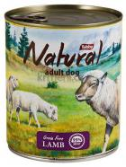TOBBY -  konz. NATURAL  LAMB  850g