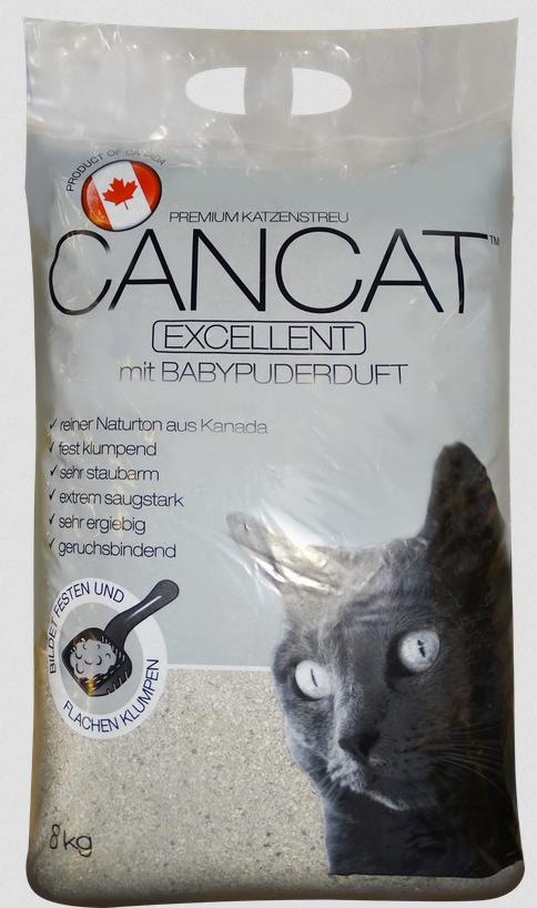 Kočkolit  CANCAT excellent - 8kg