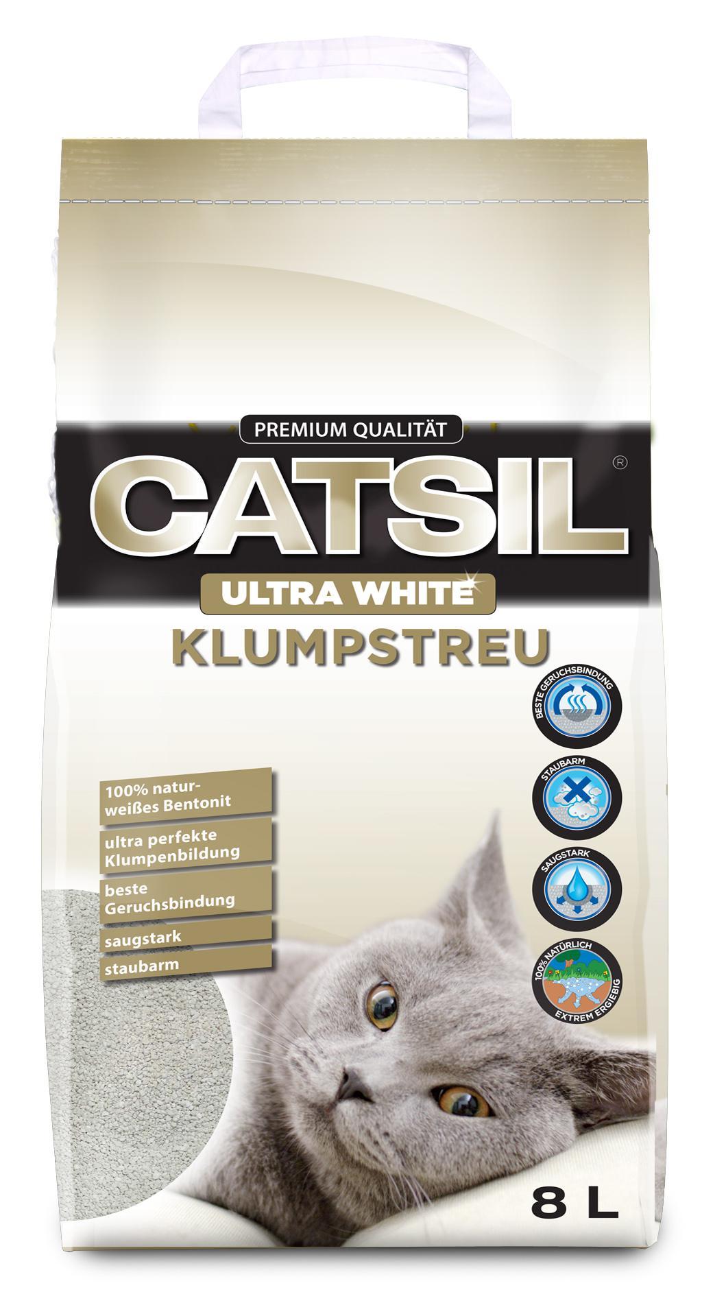 Podestýlka   CATSIL ultra white - 8l