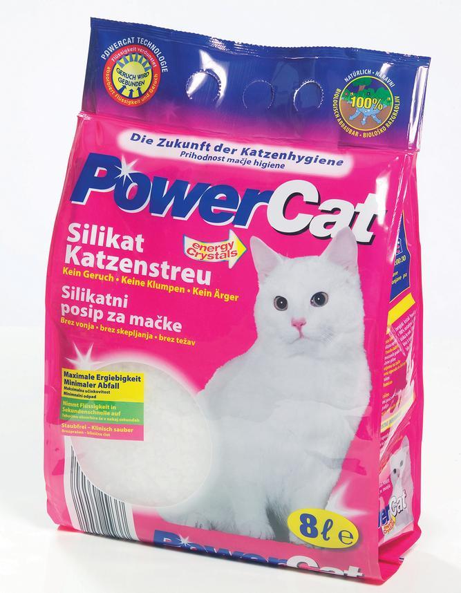 Podestýlka  POWERcat  silikon - 8l