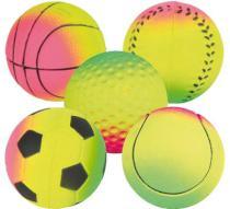 HRAČKA míč NEONOVÝ mechový
