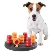 HRAČKA Dog Activity - MINI SOLITAIRE Deska s kužely