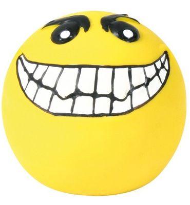 HRAČKA latexový smajlík míček, žlutý malý plněný - 6cm