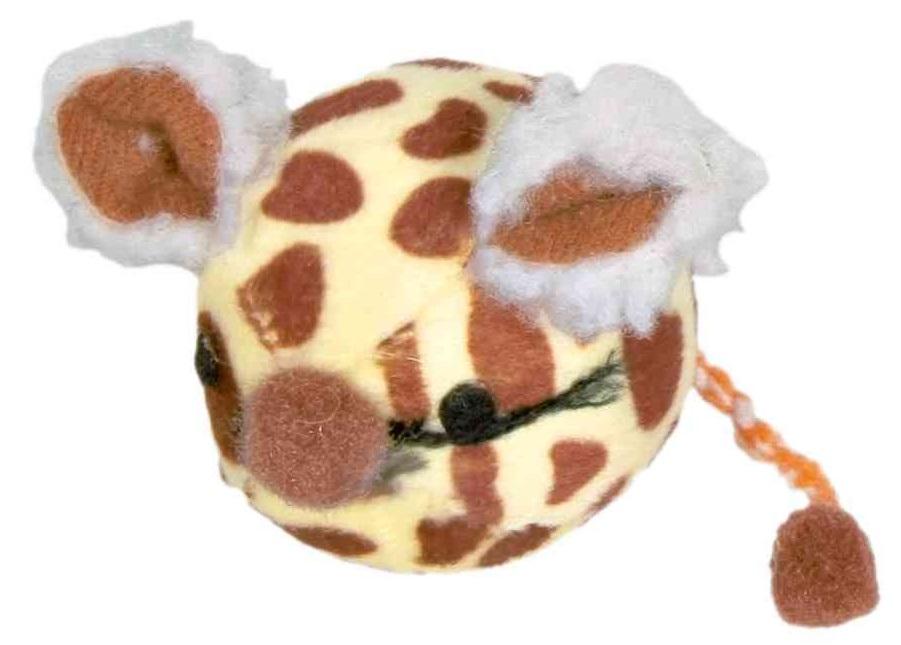 HRAČKA míček s myším obličejem - 4,5cm