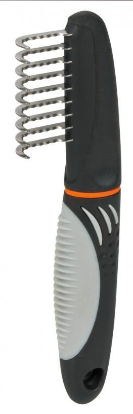 HŘEBEN trimovací hrablo - 18cm, zahnuté zuby 3,5cm