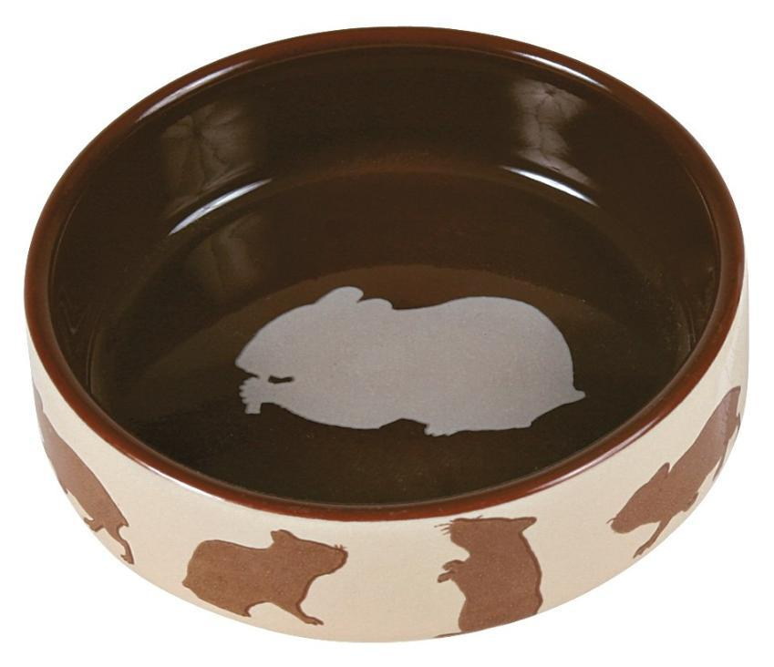Miska (trixie) keramická pro křečky barevná - 80ml/8cm