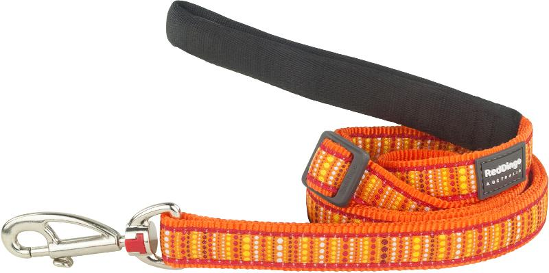 Vodítko RD LOTZADOTZ orange - 1,2cm/1,8m