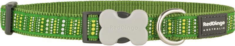 Obojek RD LOTZADOTZ green - 1,2/20-32cm