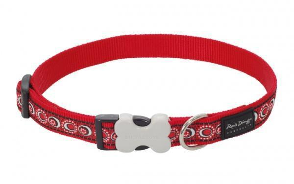 Obojek RD COSMOS RED - 1,2/20-32cm