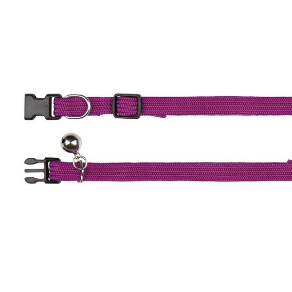 Obojek nylonový, elastický s rolničkou (trixie) - 32cm