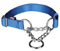 Obojek Premium polostahovací Modrý