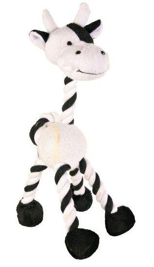 TRIXIE Žirafa/kravička s tenisovým míčem 28cm