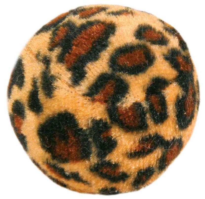 HRAČKA míčky s leopardím motivem - 4ks/4cm
