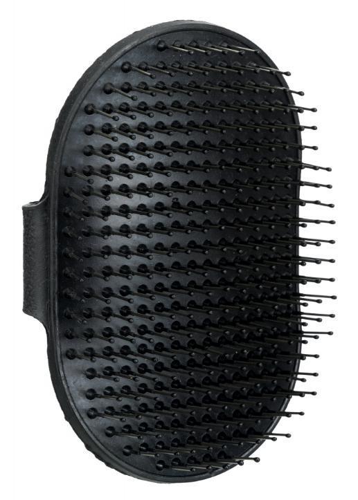 HŘEBEN ovál gumový na ruku TERIER s kovovými drátky - 7x12cm