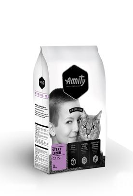 VZOREK - AMITY cat ADULT STERILIZED - 70g