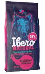 VZOREK - IBERO dog MEDIUM JUNIOR - 80g